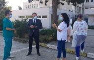 Ministrul Sănătăţii Nelu Tătaru, vizită fulger la Județean!