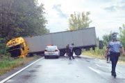 Traficul spre Vâlcea blocat ore întregi