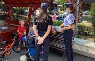 Copil accidentat când mergea cu bicicleta