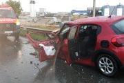 Vitezomanul fără permis a rănit o şoferiţă