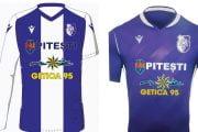 FC Argeş va îmbrăca un nou echipament