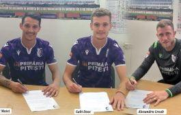 Matei, Deac şi Greab<br>au semnat pe un sezon!
