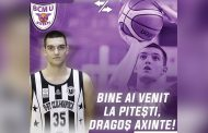 Dragoș Axinte a semnat cu BCM U FC Argeș Pitești