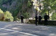 Jandarm împușcat în post, la Vidraru!
