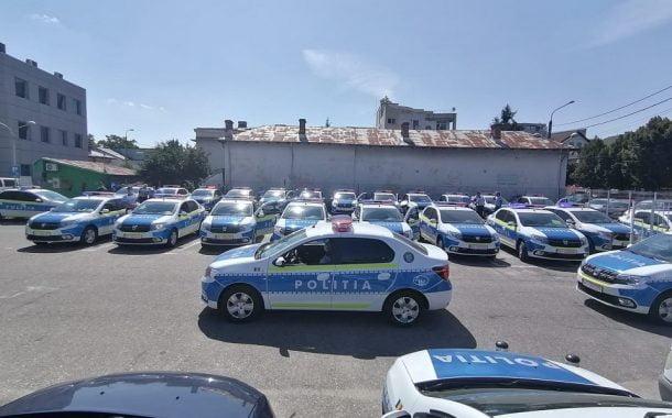 40 de maşini de poliţie noi, la IPJ Argeş!