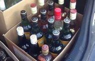 Tranzacţii ilegale cu alcool, la Bradu!
