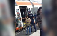 Un seflie pe tren, te poate costa viaţa!