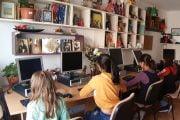 A.T. Solaris a donat 30 calcualtoare  Centrului de Tip Familial Găvana