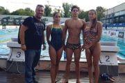 Înotătorii de la CS Dacia, în competiţie