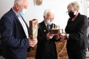 Veteranul Simăn, la 102 ani!