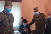 Veteranul Gheorghe Popescu împlinit 101 ani!