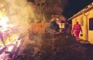 Biserică distrusă de foc!
