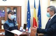 Viitor poliţist premiat de ministrul Vela!