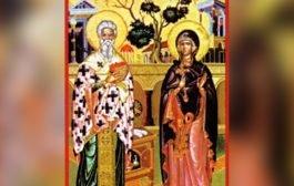 Pomenirea Sfântului sfinţitului Mucenic Ciprian vrăjitorul şi a sfintei Iustina fecioara