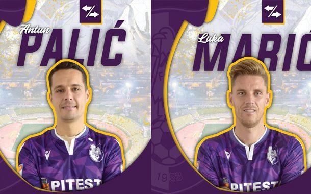 Antun Palic şi Luka Marik au semnat cu FC Argeş