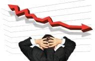 Scădere economică de 6%
