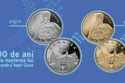 O monedă de aur şi una de argint lansate în circuit