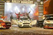 Raul Badiu, locul 3 la Raliul Ungariei!