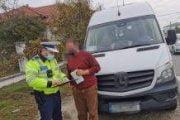 Şofer de maxi taxi amendat pentru nerespectarea măsurilor COVID-19