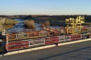 Lucrări de protecție a malului pârâului Bascov