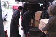 1200 de pachete de la Arhiepiscopie de Crăciun