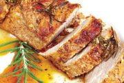Muşchiuleţ de porc la tavă