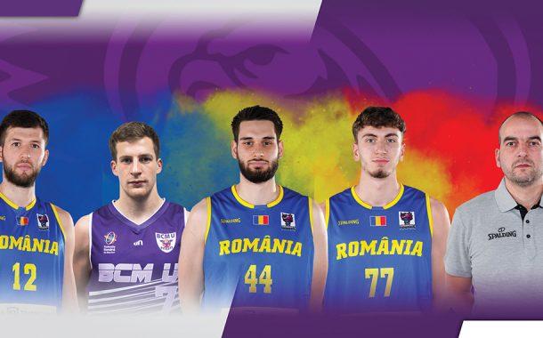 Patru baschetbalişti argeşeni, în lotul României!