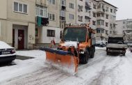 Mioveniul, deszăpezit: se circulă fără probleme pe toate străzile!