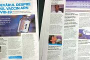Distribuia informații false despre vaccinul COVID-19