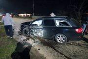 A murit făcând accident cu mașina furată!