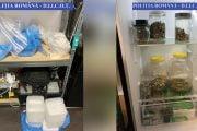 Traficant cu frigiderul plin de droguri