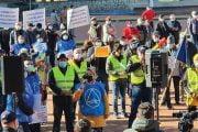 Polițiștii în stradă, la protest!