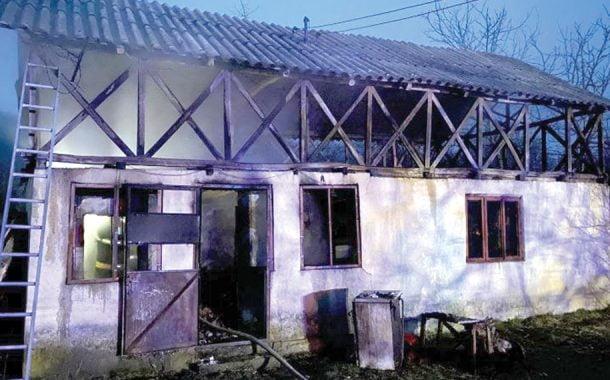 Casa arsă, proprietarul mort!