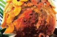 Pulpă de porc cu ananas
