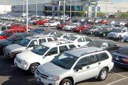 Comerţul cu autovehicule a scăzut cu 8,7%