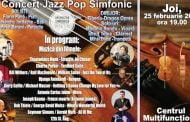 Concert de jazz și pop la Filarmonică
