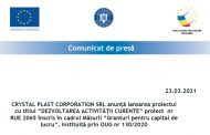 CRYSTAL PLAST CORPORATION SRL