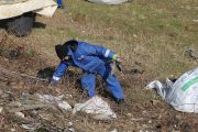 18 tone de deșeuri adunate de pe malul Argeșului