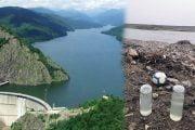 Microplastic descoperit în Barajul Vidraru și râul Argeș