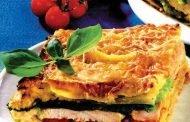 Lasagna cu varză şi carne