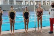 Înotătorii din Mioveni, la primul concurs al anului