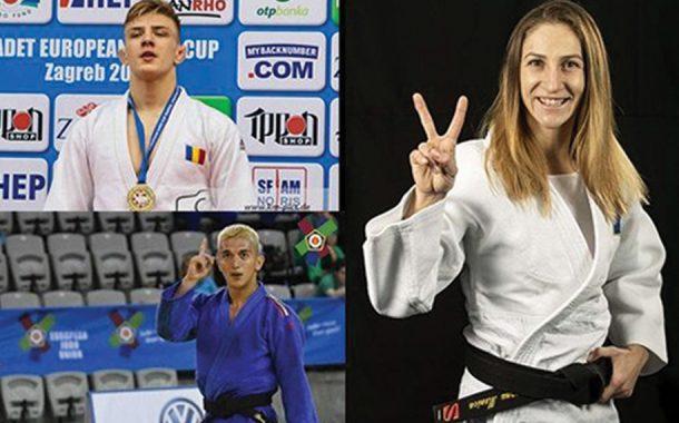 Patru medalii pentru judoka tricolori la European Open Praga!