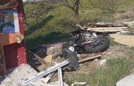 Motociclist rănit în accident la Borlești!