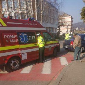 Rănită în accident la Curtea de Argeș