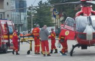Bebeluş preluat de elicopterul SMURD