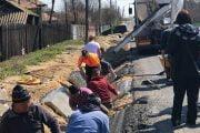 S-au reluat lucrările pentru modernizarea drumului Buzoiești - Popești