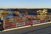 Regularizarea pârâului Bascov se apropie de finalizare