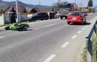 Motociclist în stare critică, după accident!
