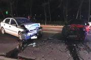 A lovit o maşină, refuzând să fie testat!