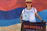 Atleta Denisa Dragomir a câștigat Alanya Ultra Trail